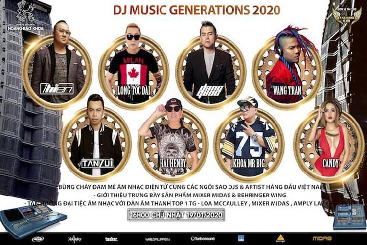 Chương trình tôn vinh âm nhạc và DJ Việt Nam 2020