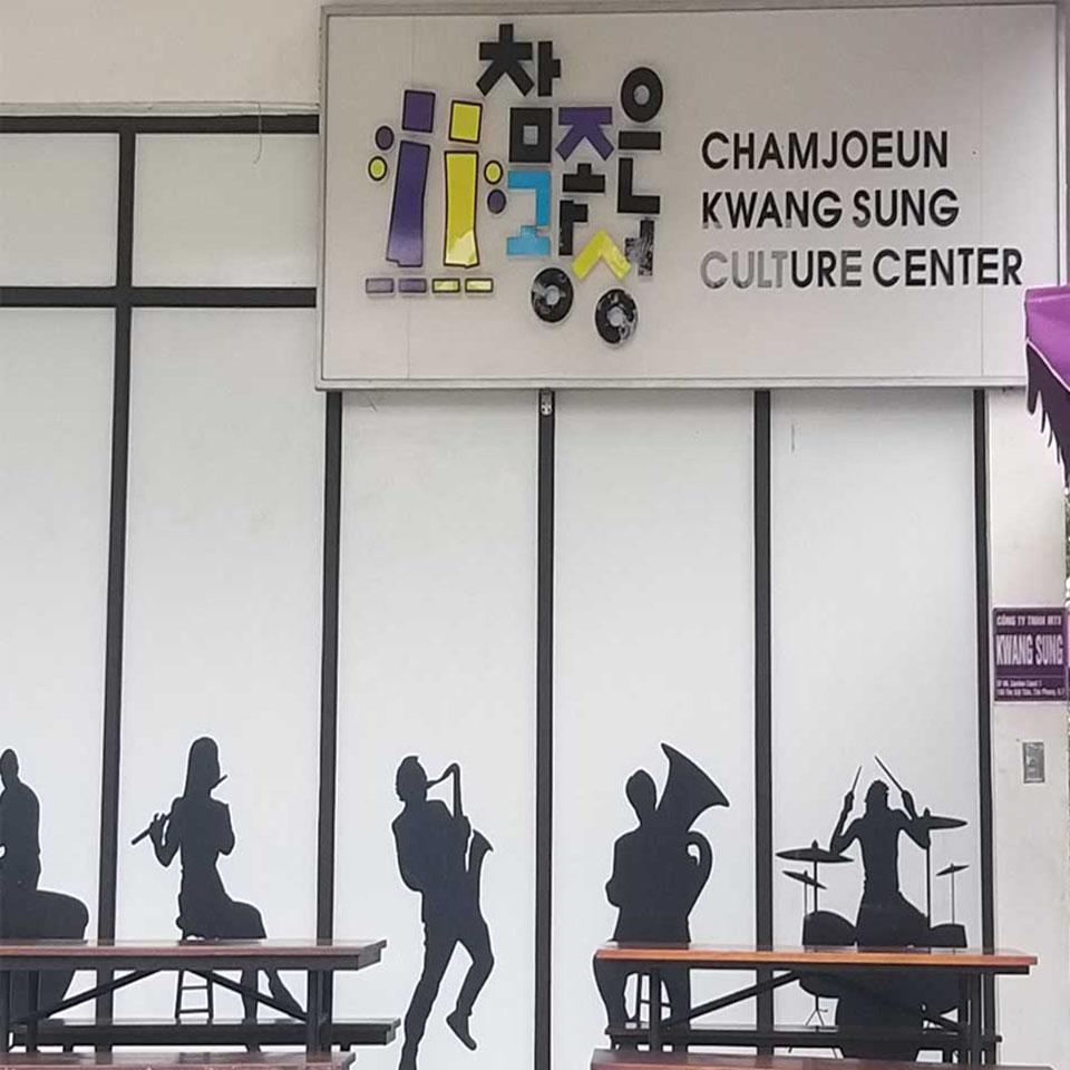 Lắp đặt dàn âm thanh hội trường tại Trung Tâm Văn hoá Hàn Quốc Phú Mỹ Hưng