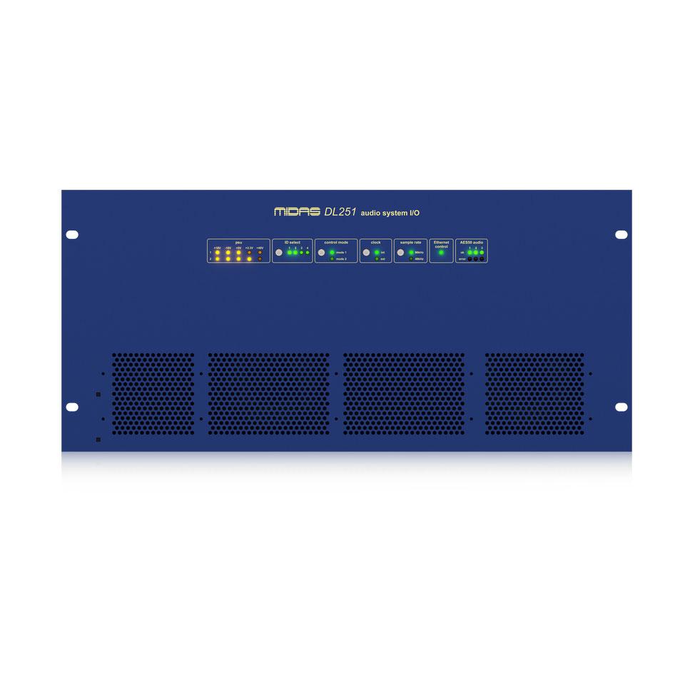 Midas DL251 Stage Box 48 Input 16 Output