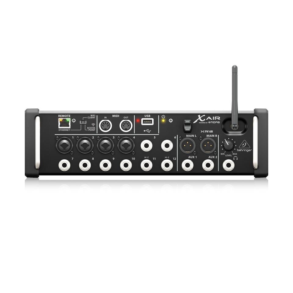 XR12 Digital Mixer Behringer 12 input