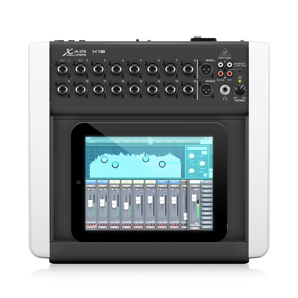Behringer X18 Mixer Digital 18 input