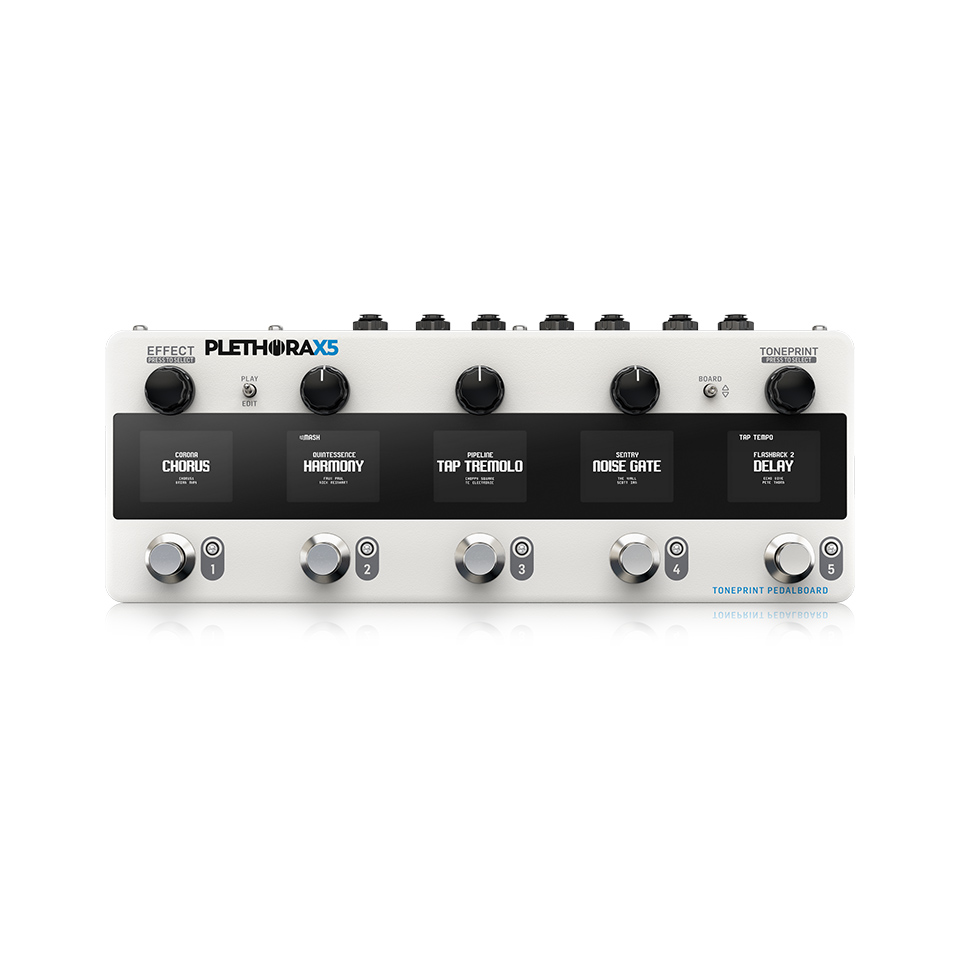 PLETHORA X5 - Guitar and Bass TC ELECTRONIC PLETHORA X5