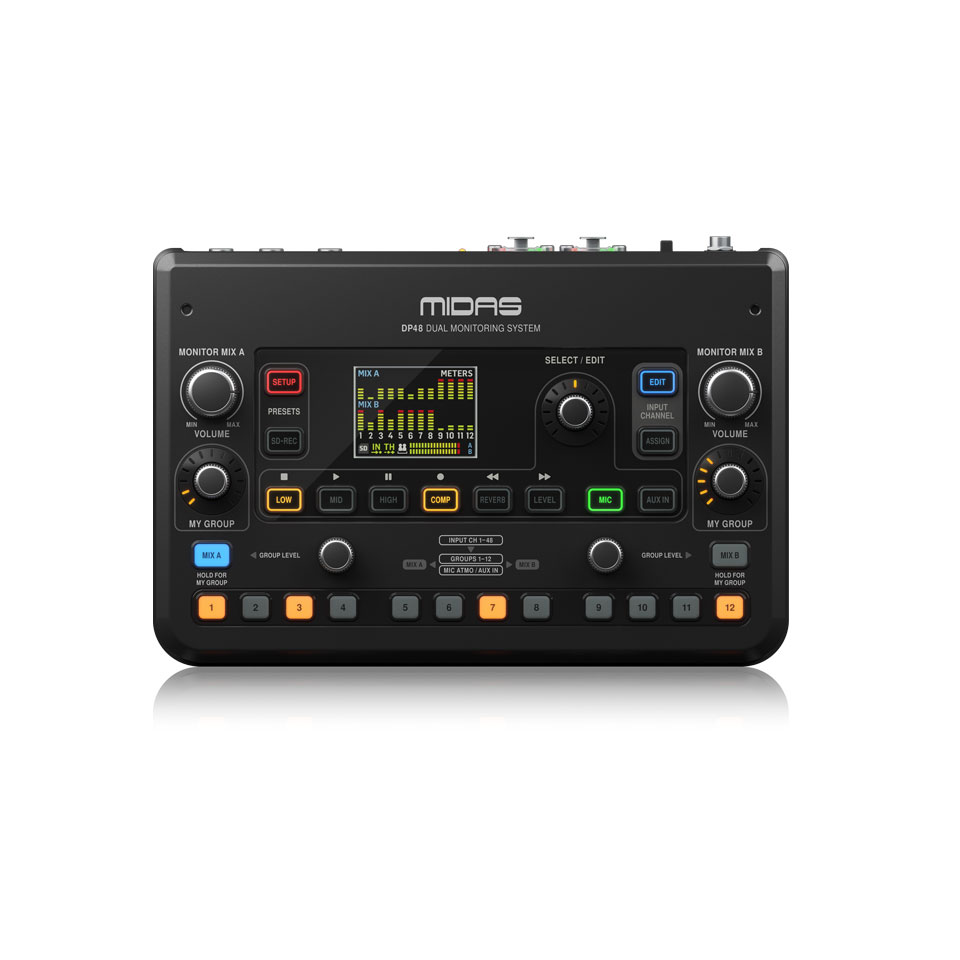 Dual Monitoring Mixer Midas DP48