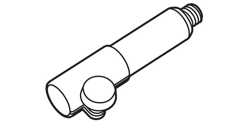 PAS-M20 ADAPTER SLEEVE M20 (35MM POLE)