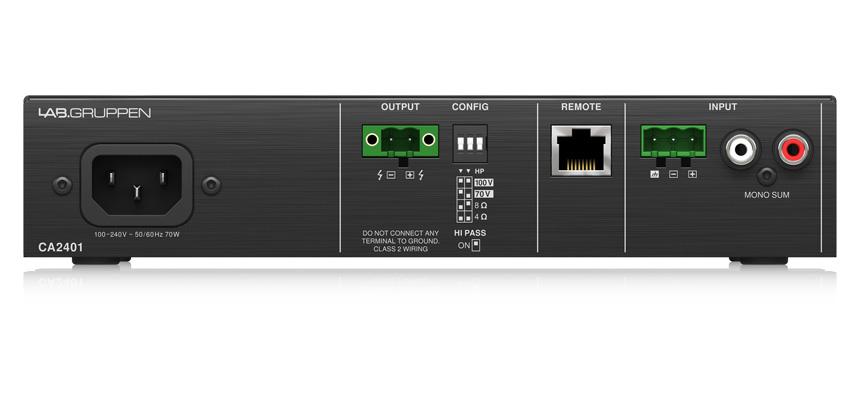 CA2401 - Ampli Lab Gruppen