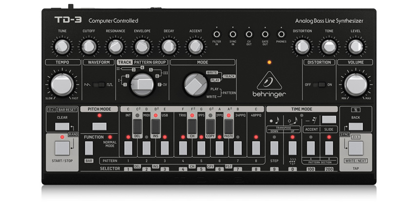 TD-3-BK - Synthesizers Behringer