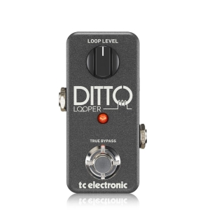 DITTO LOOPER Guitar and Bass Effects TC Electronic