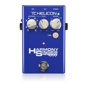 Harmony Singer  Voice Processors TC HELICON