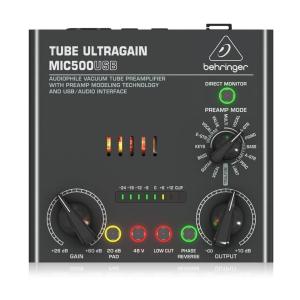 MIC500 USB Ampli Tube Tích Hợp Pream