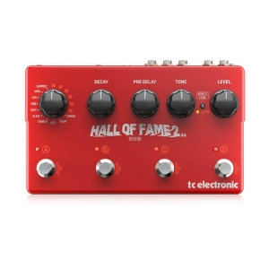 Hall of Fame 2 x 4 Reverb - Guitar and Bass TC ELECTRONIC