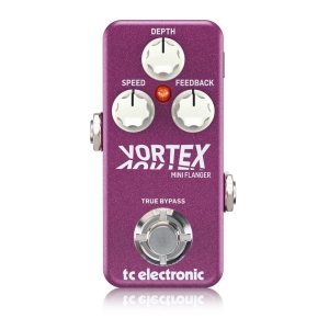 Vortex Mini Flanger - Guitar and Bass TC ELECTRONIC