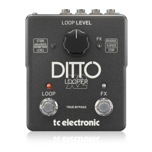 Ditto x2 Looper - Guitar Stompboxes TC ELECTRONIC
