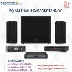 Trọn Bộ Âm Thanh Karaoke Thương Hiệu Tannoy Combo 3
