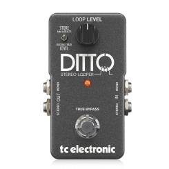 Ditto Stereo Looper Guitar and Bass Effects TC Electronic