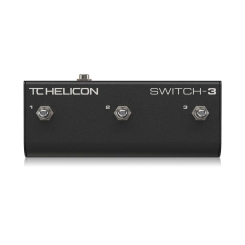Switch-3 Footswitches for Voice Processors Tc Helicon