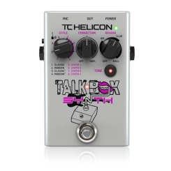 TalkBox Synth - Voice Processors TC HELICON