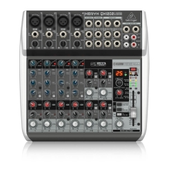 QX1202USB Mixer Behringer Analog 12 input 2 Bus Tích Hợp Mic Preamp EQ USB FX