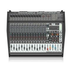 PMP6000 Mixer Behringer Liền Công Suất 1.600w 20 channels 2 x FX