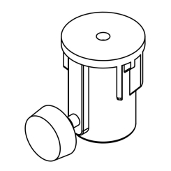 MSA-STAND ADAPTER CUP 35MM 60 LBS