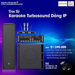 Trọn Bộ Karaoke Giá Tốt Loa Turbosound Series iP