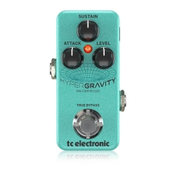 HyperGravity Mini Compressor - Guitar and Bass TC ELECTRONIC