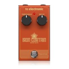 Iron Curtain Noise Gate IRON CURTAIN NOISE GATE - Guitar and Bass TC ELECTRONIC