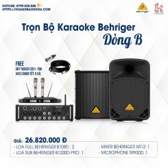 Trọn Bộ Karaoke Giá Tốt Loa Behringer Series B