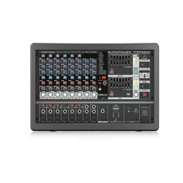 Behringer PMP580S Mixer Analog 500-Watt 10-Channel Klark Teknik Multi-FX FBQ