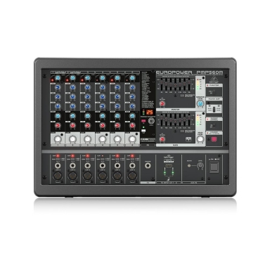Mixer Liền Công Suất Behringer PMP560M 500W Klark Teknik Multi-FX FBQ