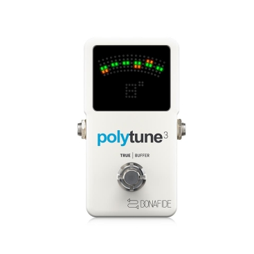 POLYTUNE 3 - Guitar Tuners TC ELECTRONIC POLYTUNE 3