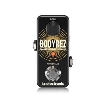 BODYREZ ACOUSTIC PICKUP ENHANCER - Guitar Stompboxes TC ELECTRONIC BODYREZ ACOUSTIC PICKUP ENHANCER