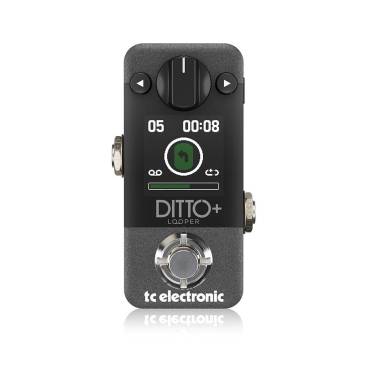 DITTO+ LOOPER - Guitar Stompboxes TC ELECTRONIC DITTO+ LOOPER