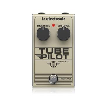 TUBE PILOT OVERDRIVE - Guitar and Bass TC ELECTRONIC TUBE PILOT OVERDRIVE