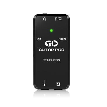GO GUITAR PRO - Audio Interfaces TC HELICON GO GUITAR PRO