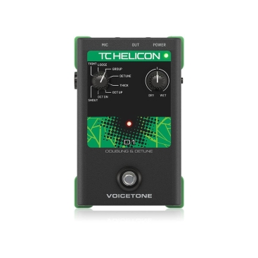 VOICETONE D1 - Voice Processors TC HELICON VOICETONE D1