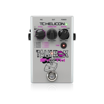 TALKBOX SYNTH - Voice Processors TC HELICON TALKBOX SYNTH