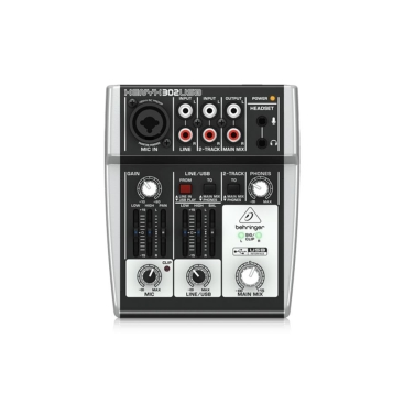 Behringer 302USB Mixer Analog 5 in 2 Bus Tích Hợp Mic Preamp, EQ
