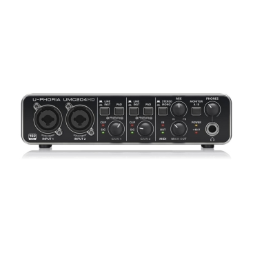UMC204HD Sound Card Behringer
