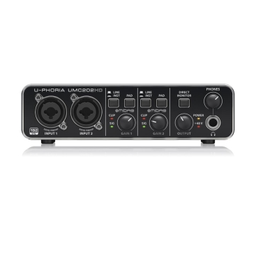 UMC202HD Sound Card Behringer