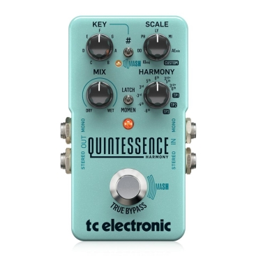 Quintessence Harmony Multi-Effects for Guitar Tc Electronic