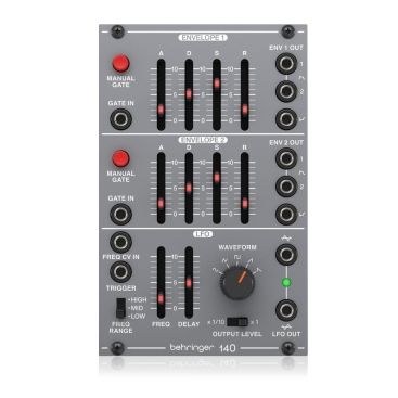 140 Dual Envelope/LFO Synthesizers Behringer