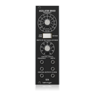 921A Oscillator Driver Synthesizers Behringer