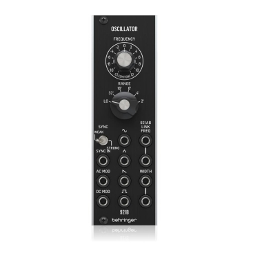 921B Oscillator Synthesizers Behringer