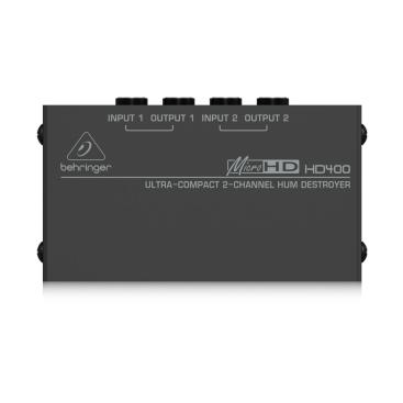 HD400 Passive DI Boxes Behringer
