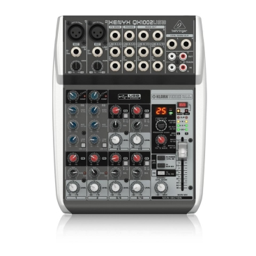QX1002USB Mixer Behringer Analog 10 in 2 Bus Tích Hợp Mic Preamp, EQ USB FX