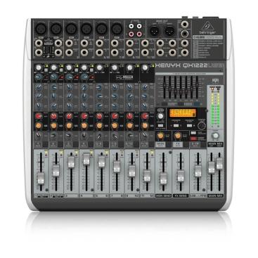 QX1222USB Mixer Behringer Analog 12 input 2/2 Bus Tích Hợp Mic Preamp EQ USB FX