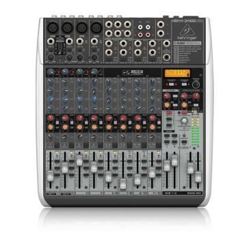 QX1622USB Mixer Behringer Analog 16 input 2/2 Bus Tích Hợo Mic Preamp EQ USB FX