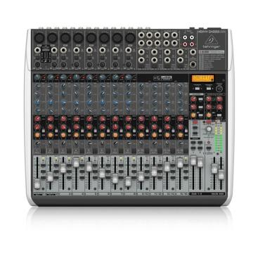 QX2222USB Mixer Analog Behringer 22 input 2/2 Bus Tích Hợp Mic Preamp EQ USB FX