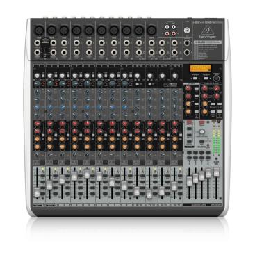 QX2442USB Mixer Analog Behringer 24 input 4/2 Bus Tích Hợp Mic Preamp EQ USB FX