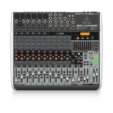 QX1832USB Mixer Analog 18 input 2/2 Bus Tích Hợp Mic Preamp EQ USB FX